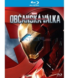 Captain America: Občanská válka - Iron Man (Captain America: Civil War) Blu-ray