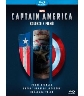 CAPTAIN AMERICA 1-3 KOLEKCE 3X Blu-ray