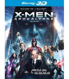 X-Men: Apokalypsa (X-Men: Apocalypse) Blu-ray 3D + 2D