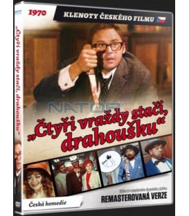 Čtyři vraždy stačí, drahoušku (Remasterovaná verze) - DVD