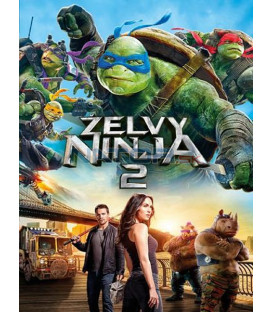 Želvy Ninja 2 - 2016  (Teenage Mutant Ninja Turtles: Out Of The Shadows) DVD