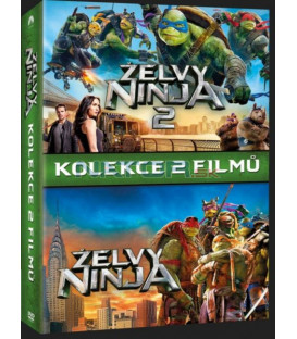 Želvy Ninja kolekce 1.-2. 2DVD (Teenage Mutant Ninja Turtles Collection 1-2 2DVD)