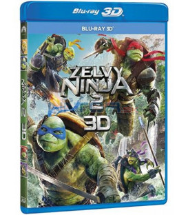 Želvy Ninja 2 - 2016 (Teenage Mutant Ninja Turtles: Out Of The Shadows) 3D Blu-ray