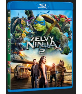 Želvy Ninja 2 - 2016 (Teenage Mutant Ninja Turtles: Out Of The Shadows) Blu-ray