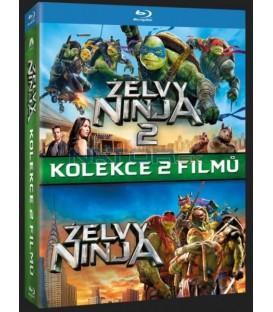 Želvy Ninja kolekce 1.-2 (Teenage Mutant Ninja Turtles Collection 1-2 2xBlu-ray