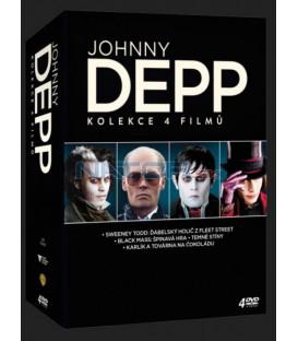 Johnny Depp kolekce 4DVD (Johnny Depp kolekce 4DVD)