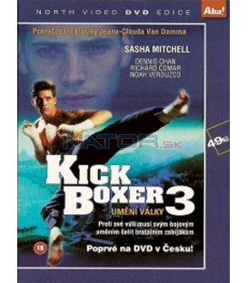 Kickboxer 3: Umění války(Kickboxer 3: The Art of War) DVD