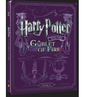 Harry Potter a Ohnivá čaša (Harry Potter And Goblet Of Fire) Blu-ray+DVD bonus steelbook