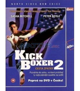 Kickboxer 2: Cesta zpátky (Kickboxer II: The Road Back) DVD