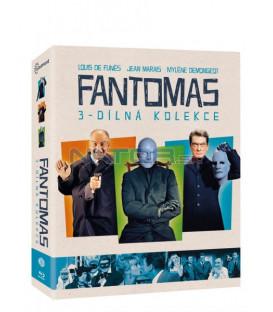 Fantomas kolekce 3 BLU-RAY