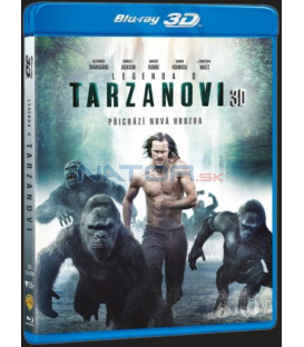 Legenda o Tarzanovi (The Legend of Tarzan) 2016 Blu-ray 3D + 2D