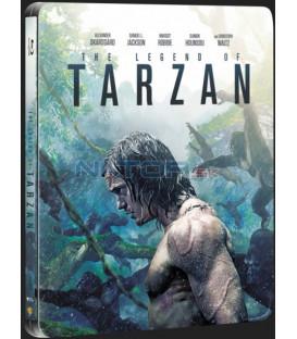 Legenda o Tarzanovi (The Legend of Tarzan) 2016 Blu-ray 3D + 2D steelbook