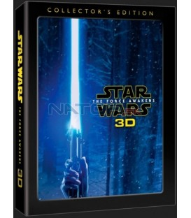 Star Wars: Síla se probouzí (Star Wars: The Force Awakens) + bonusový disk 3BD 3D+2D Blu-ray digipack