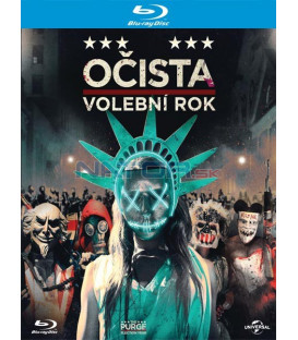 Očista: Volební rok (The Purge: Election Year) Blu-ray
