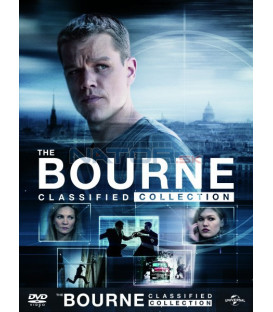 6 DVD Bourneova kolekce (5 DVD + DVD bonus disk) DVD