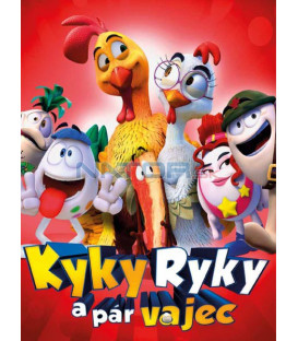 Kyky Ryky a pár vajec ( Un gallo con muchos huevos) DVD