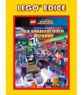 Lego: DC - Liga spravedlivých vs. Bizarro - Edice Lego filmy (Lego: DC - Justice League vs. Bizarro) DVD