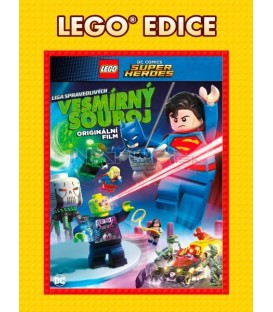 Lego DC Super hrdinové: Vesmírný souboj - Edice Lego filmy (Lego DC Super Heroes: Cosmic Clash) DVD