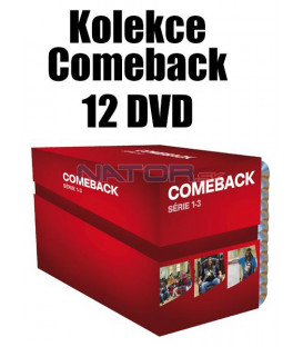 Kolekce Comeback  12 DVD (nové balení)