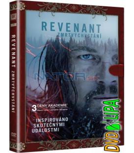 REVENANT - Zmrtvýchvstání DVD (knižní edice)