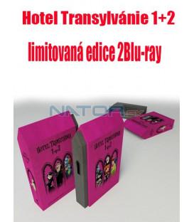 Hotel Transylvánie 1+2 (limitovaná edice) 2Blu-ray