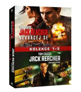 Jack Reacher kolekce 1-2 2DVD (Jack Reacher 2-Movie Collection) DVD