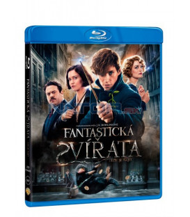 Fantastická zvířata a kde je najít (Fantastic Beasts and where to find them) Blu-ray