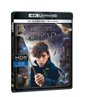 Fantastická zvířata a kde je najít (Fantastic Beasts and where to find them) Blu-ray UHD+BD - 2 x Blu-ray