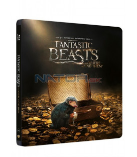 Fantastická zvířata a kde je najít (Fantastic Beasts and where to find them) 3D+2D Blu-ray STEELBOOK