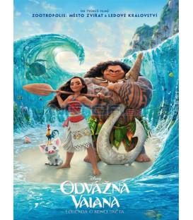 Odvážná Vaiana: Legenda o konci světa (Moana) SK/CZ dabing DVD