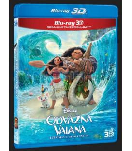 Odvážná Vaiana: Legenda o konci světa (Moana)  3D + 2D Blu-ray