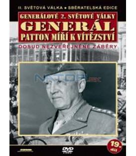 Generálové 2.světové války - Generál Patton míří k vítězství  DVD