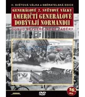 Generálové 2. světové války - Američtí generálové dobývají Normandii DVD