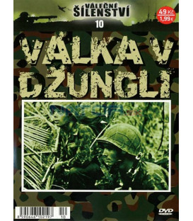 Válečné šílenství 10-Válka v džungli DVD
