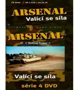 Arsenal - Valící se síla (Arsenal - Rolling Power) DVD