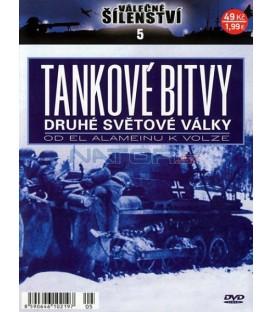 Válečné šílenství 5-Tankové bitvy druhé světové války DVD