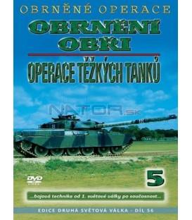 Obrněné operace 5 - Obrnění obři. Operace těžkých tanků DVD