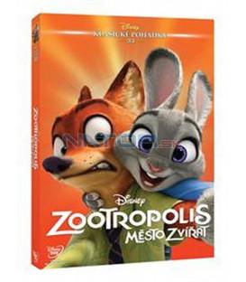 Zootropolis: Město zvířat (Zootropolis) - Edice Disney klasické pohádky č.33