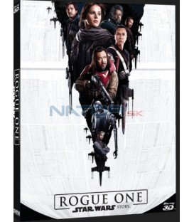 Rogue One: Star Wars Story 3xBlu-ray 3D+2D+bonusový disk