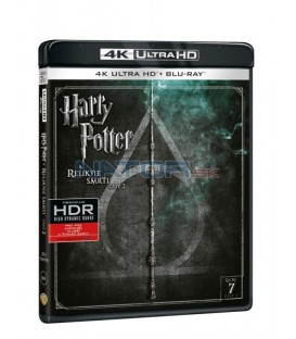 Harry Potter a Relikvie smrti - část 2. (Harry Potter and The Deathly Hallows Part 2.) Blu-ray UHD+BD - 2 x Blu-ray