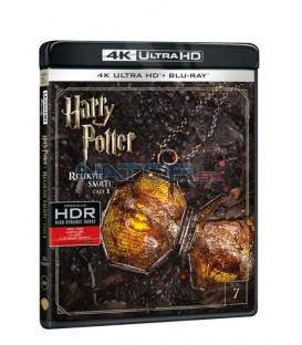 Harry Potter a Relikvie smrti - část 1. (Harry Potter and The Deathly Hallows Part 1.) Blu-ray UHD+BD - 2 x Blu-ray
