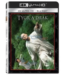 Tygr a drak (Crouching Tiger, Hidden Dragon) UHD+BD - 2 x Blu-ray