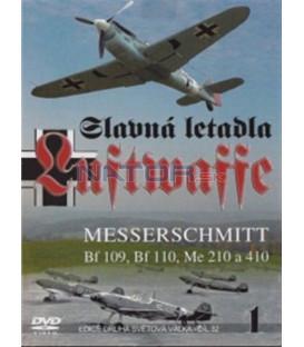 Slavná letadla Luftwaffe - 1. dí l (Famous Planes Me-109 / Famous Planes Me-110) DVD
