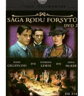 Sága rodu Forsytů - DVD 2 (The Forsyte Saga) DVD