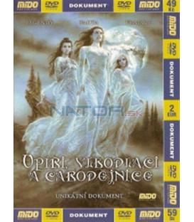 Upíři, vlkodlaci a čarodějnice (The Unexplained: Witches, Werewolves & Vampires) DVD