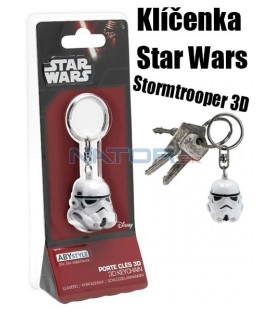 Klíčenka Star Wars - Stormtrooper 3D