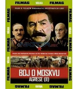 Boj o Moskvu - agrese 2 DVD (Bitva za Moskvu)