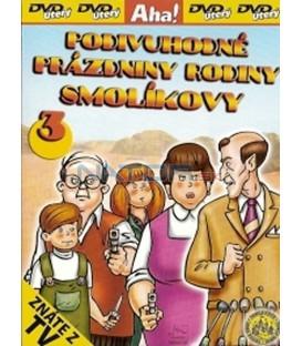 Podivuhodné prázdniny rodiny Smolíkovy 3 (Vakáción a Mézga család) DVD