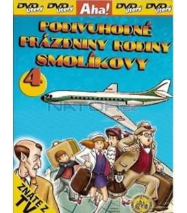 Podivuhodné prázdniny rodiny Smolíkovy 4 (Vakáción a Mézga család) DVD