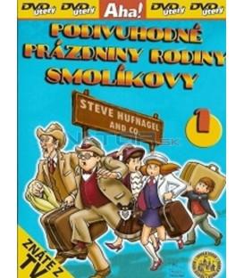 Podivuhodné prázdniny rodiny Smolíkovy 1 (Vakáción a Mézga család) DVD